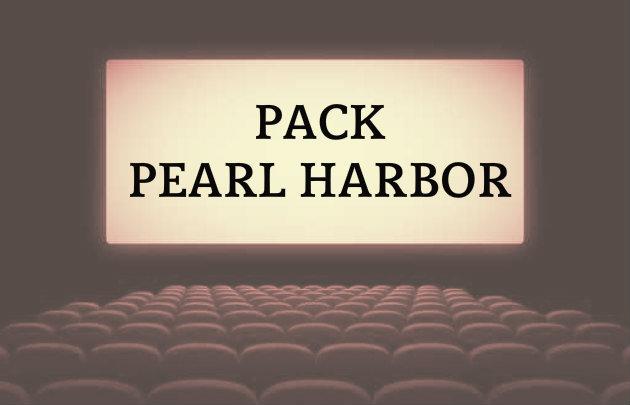 Le pack Pearl Harbor pour un recul jusqu'à 3,5 mètres