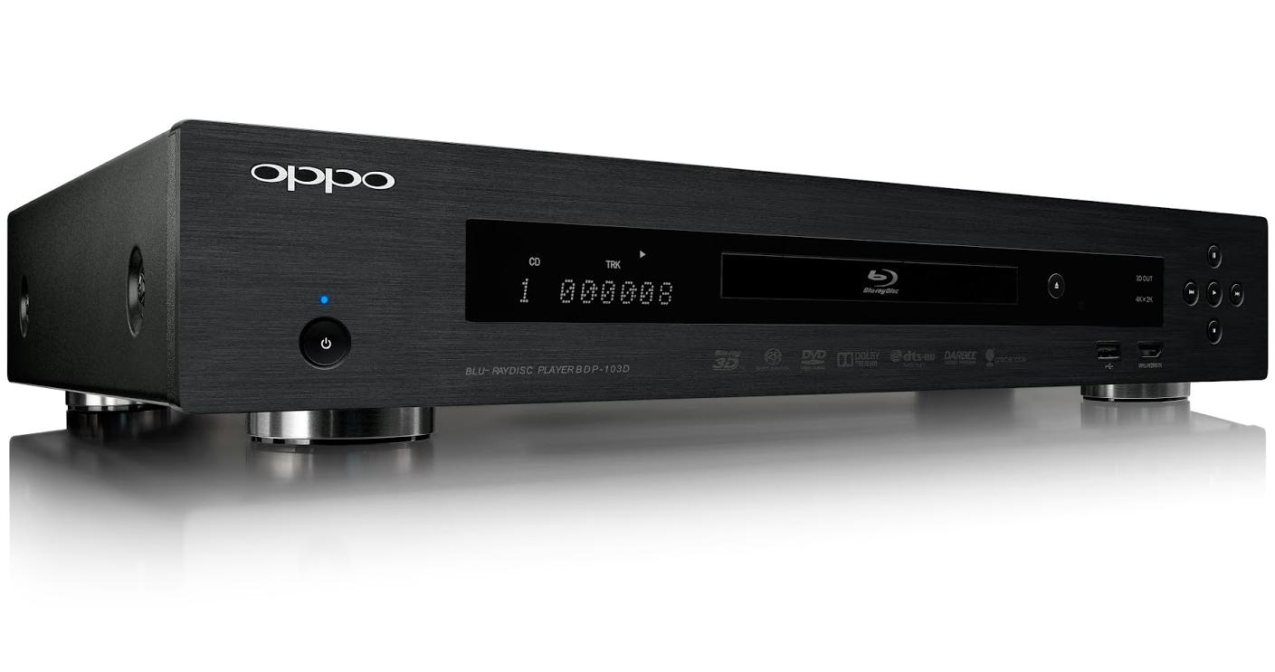 OPPO BDP-103D le lecteur de disque blu-ray qui intègre la technologie Darbee