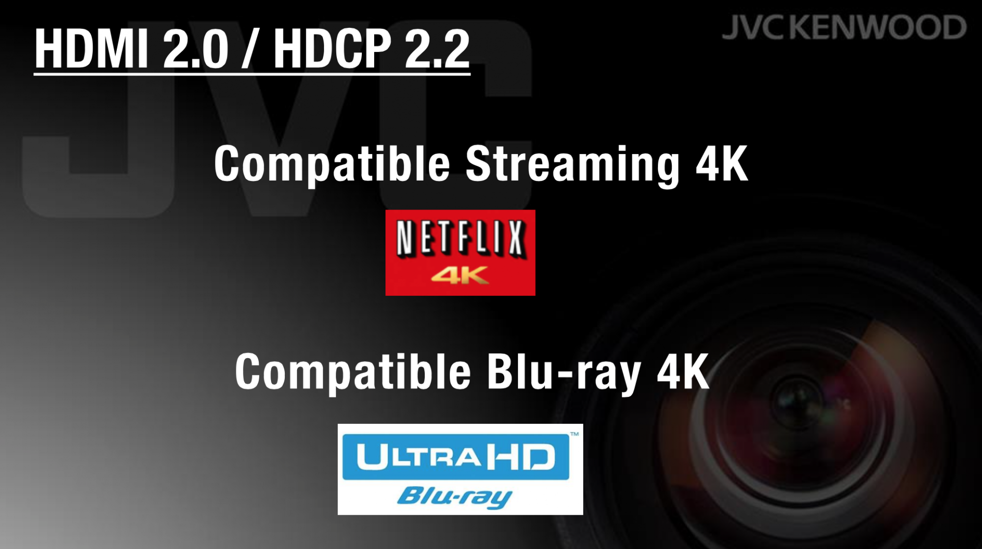 HDMI 2.0 HDCP 2.2 JVC DLA-X7000