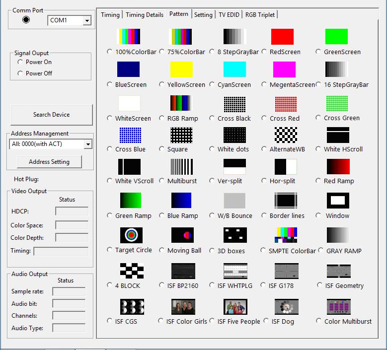 testeur HDMI pour écran et videoprojecteur HDMI 2.0 HDCP 2.2