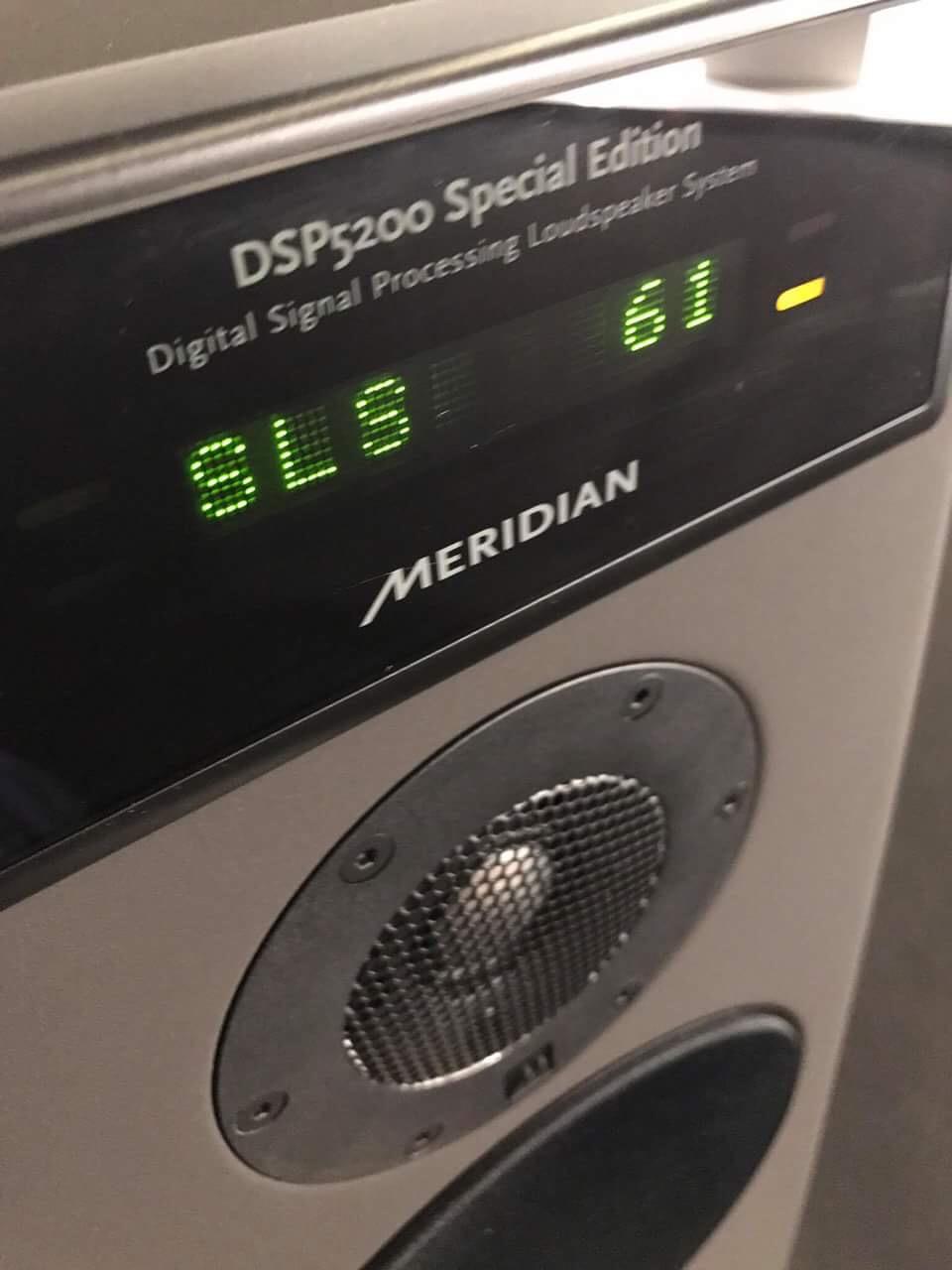 Meridian DSP 5200 finition noire matte février 2017