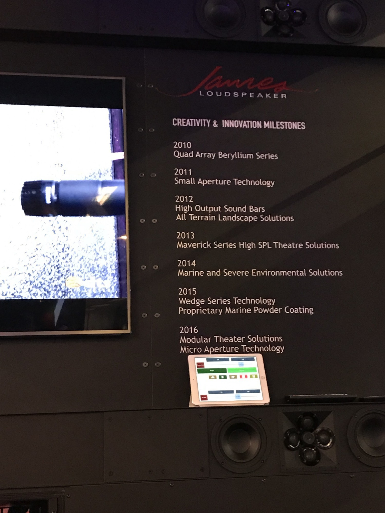 ames loudspeaker QX520 Vincennes