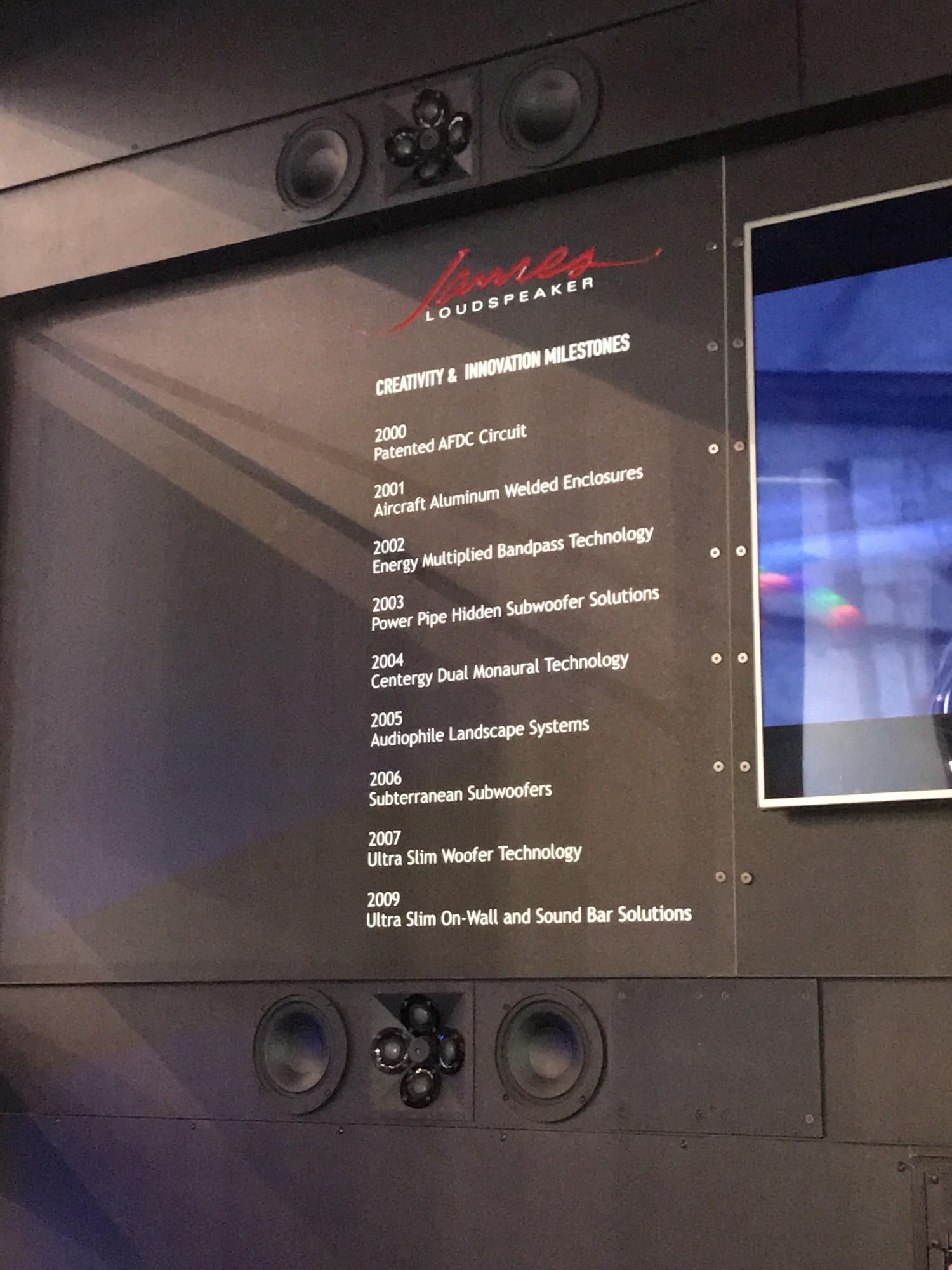 ames loudspeaker QX520 nouveauté