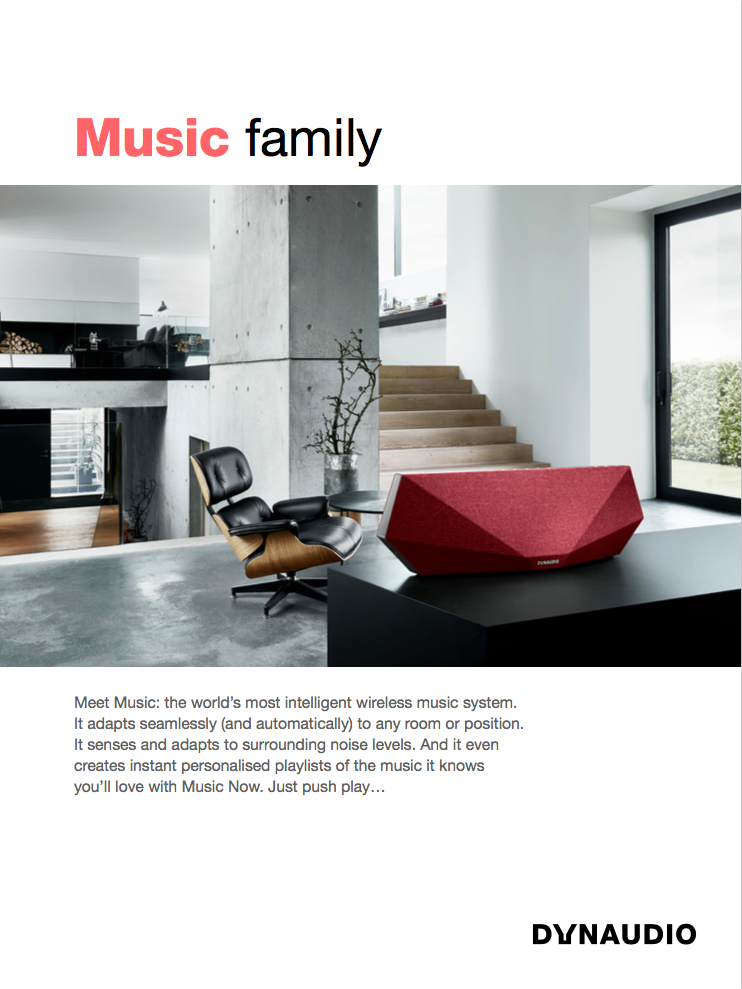 découvrir Dynaudio Music 1 à l'Apple store Marseille