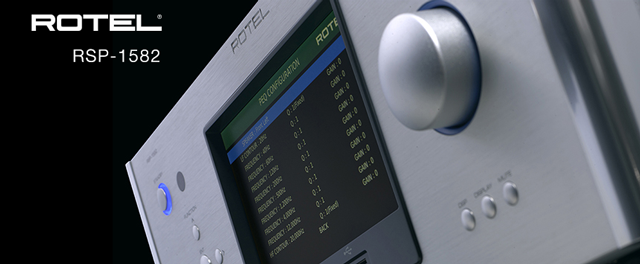rotel rsp-1582 av processor