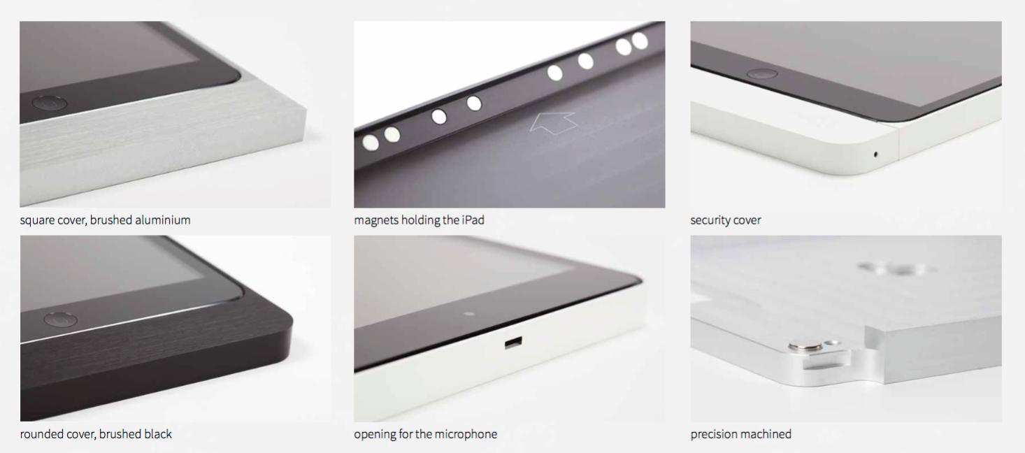 support pour iPad de marque basalte