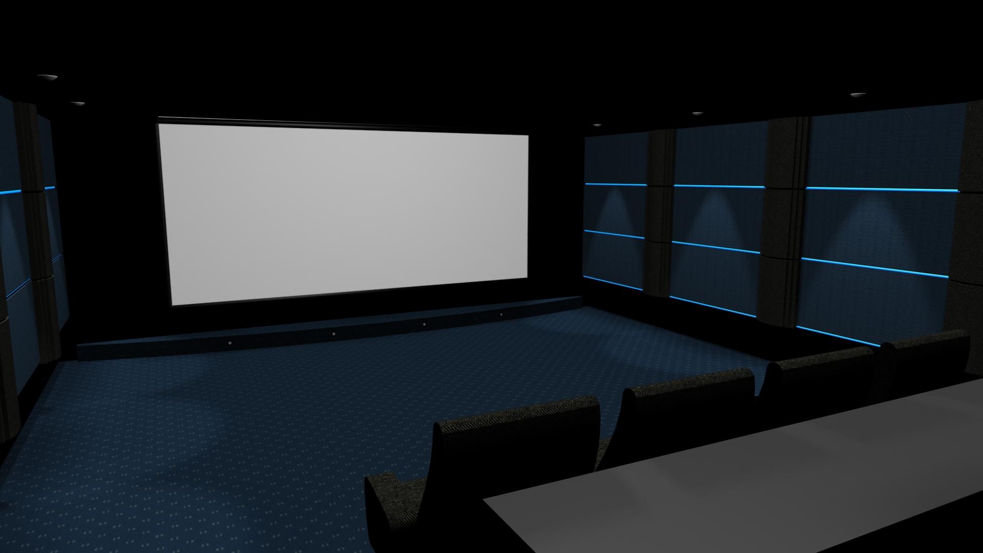traitement acoustique salle de cinema privée cannes