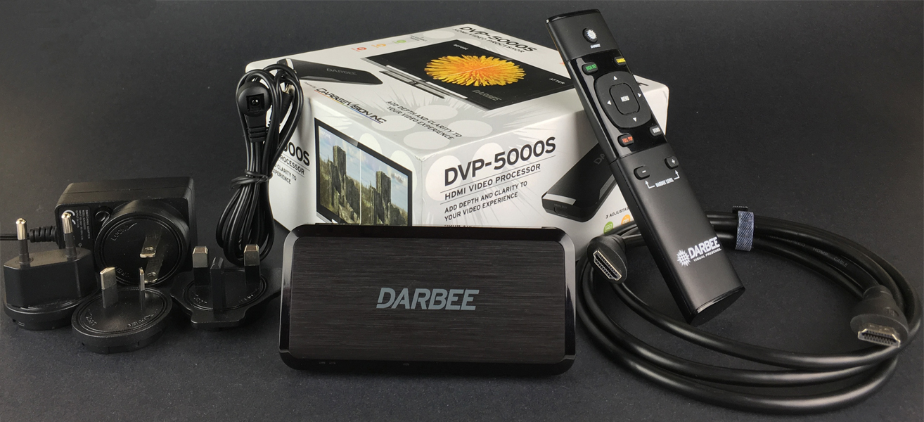 DARBEE DVP 5000S scaler