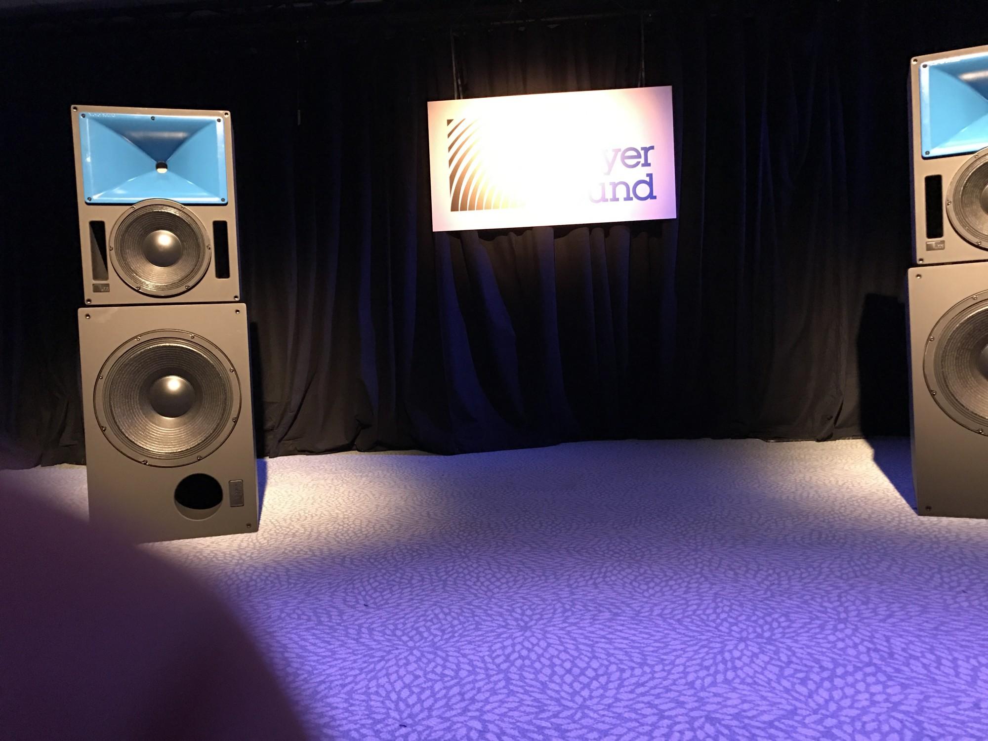 Meyer Sound France Blue Horn