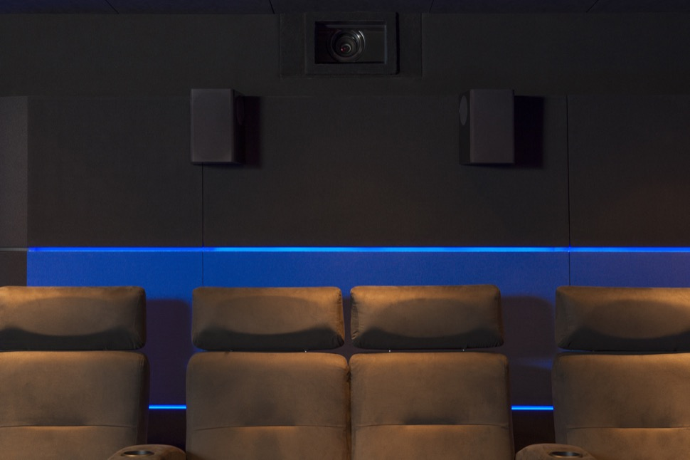 home cinema de luxe à Cannes