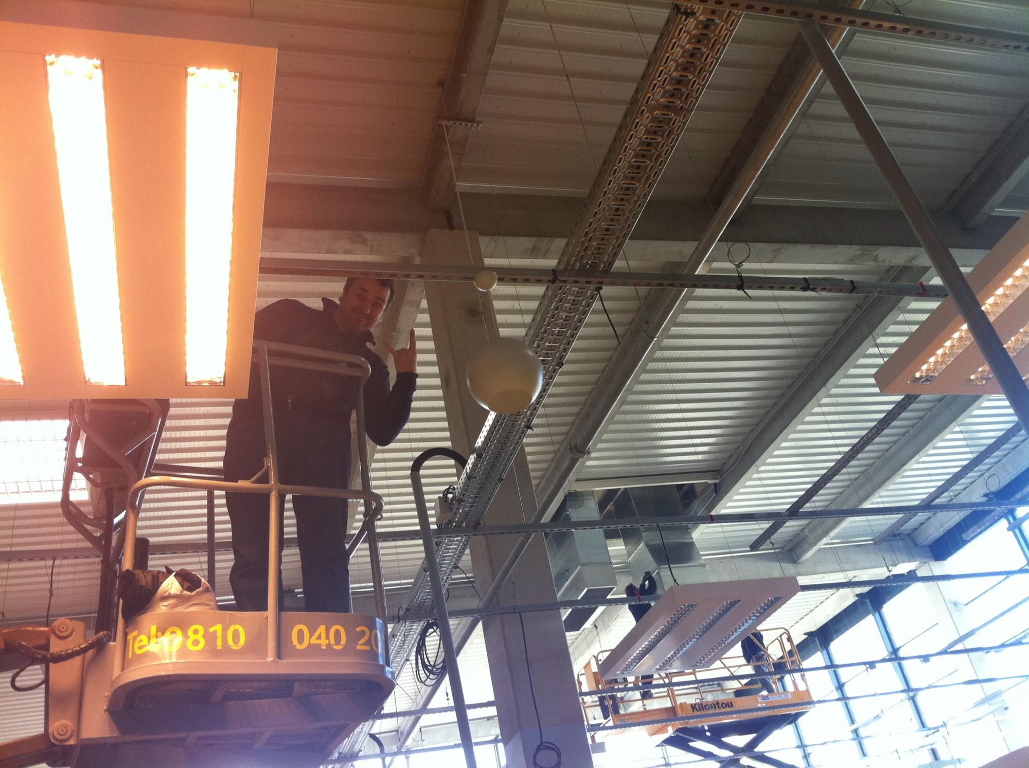 sonorisation de boutique en plafond